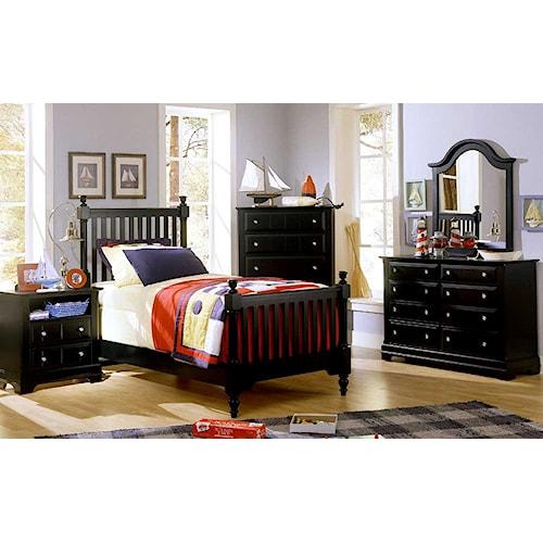 Vaughan Bassett Cottage Twin Bedroom Group