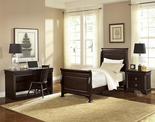 Vaughan Bassett French Market Twin Bedroom Group