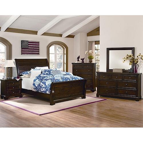 Vaughan Bassett Hanover Queen Bedroom Group