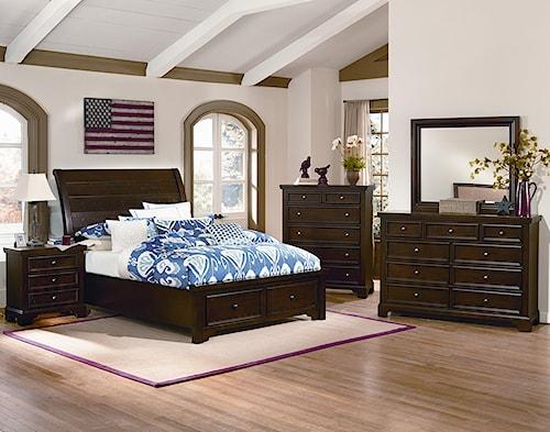 Vaughan Bassett Hanover Full Bedroom Group