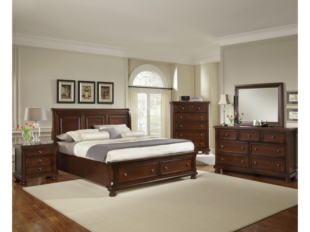 King Size Bed Shown. Queen Size will have Two Panels instead of Three.