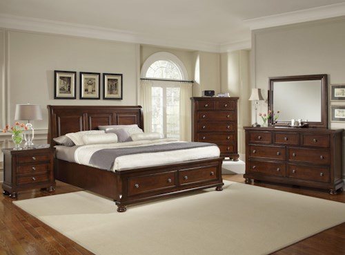 Vaughan Bassett Reflections Queen Bedroom Group