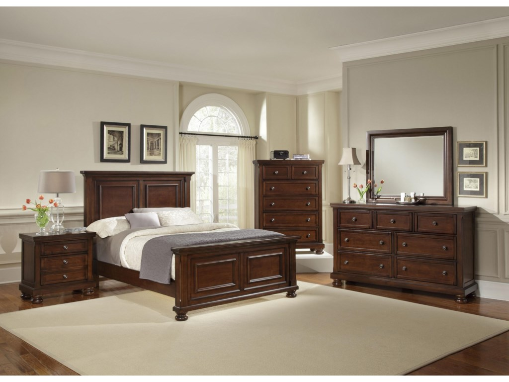 Queen Size Bed Shown. California King Size will have Three Panels instead of Two.