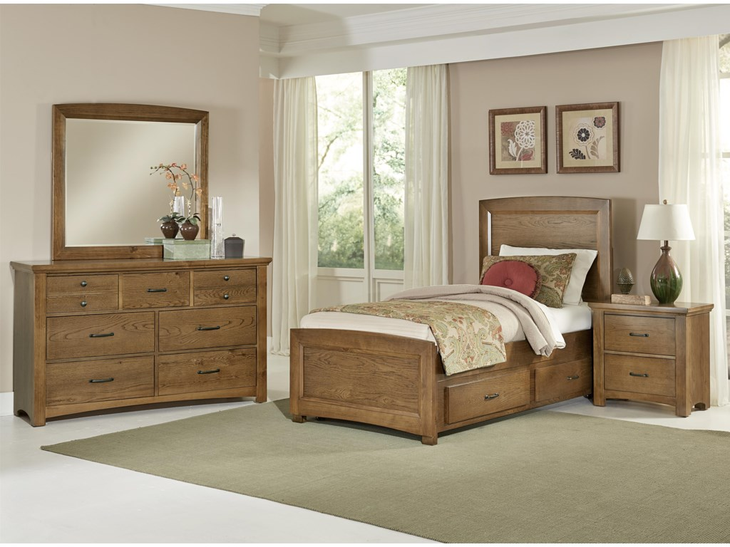 Vaughan Bassett TransitionsTwin Bedroom Group