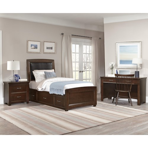 Vaughan Bassett Transitions Twin Bedroom Group