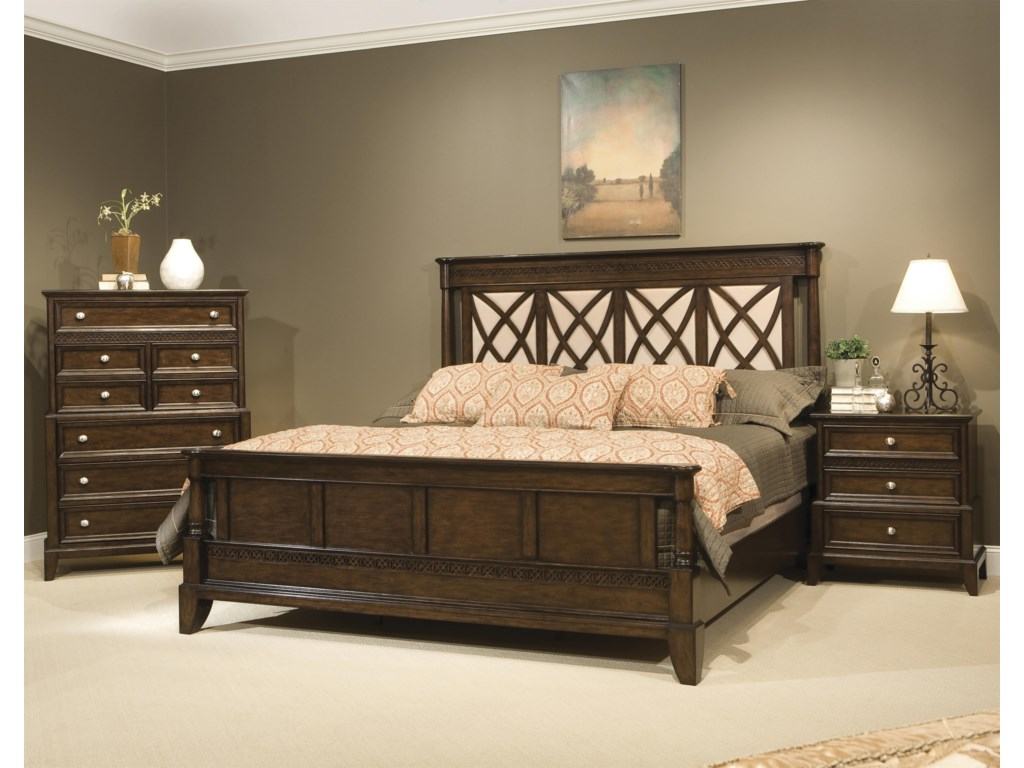 Vaughan Furniture Jackson SquareQueen Bedroom Group