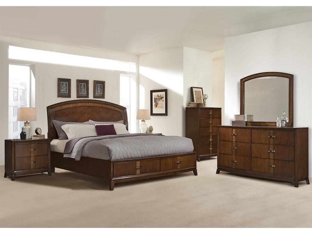 Vaughan Furniture MartiniqueKing Bedroom Group