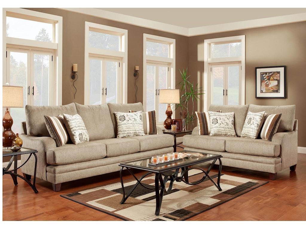 Washington 2230Stationary Living Room Group