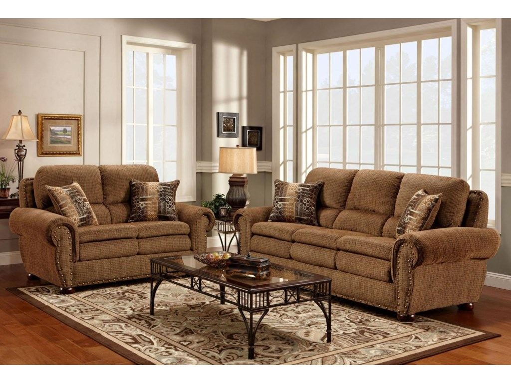 Washington 3400 Stationary Sofa