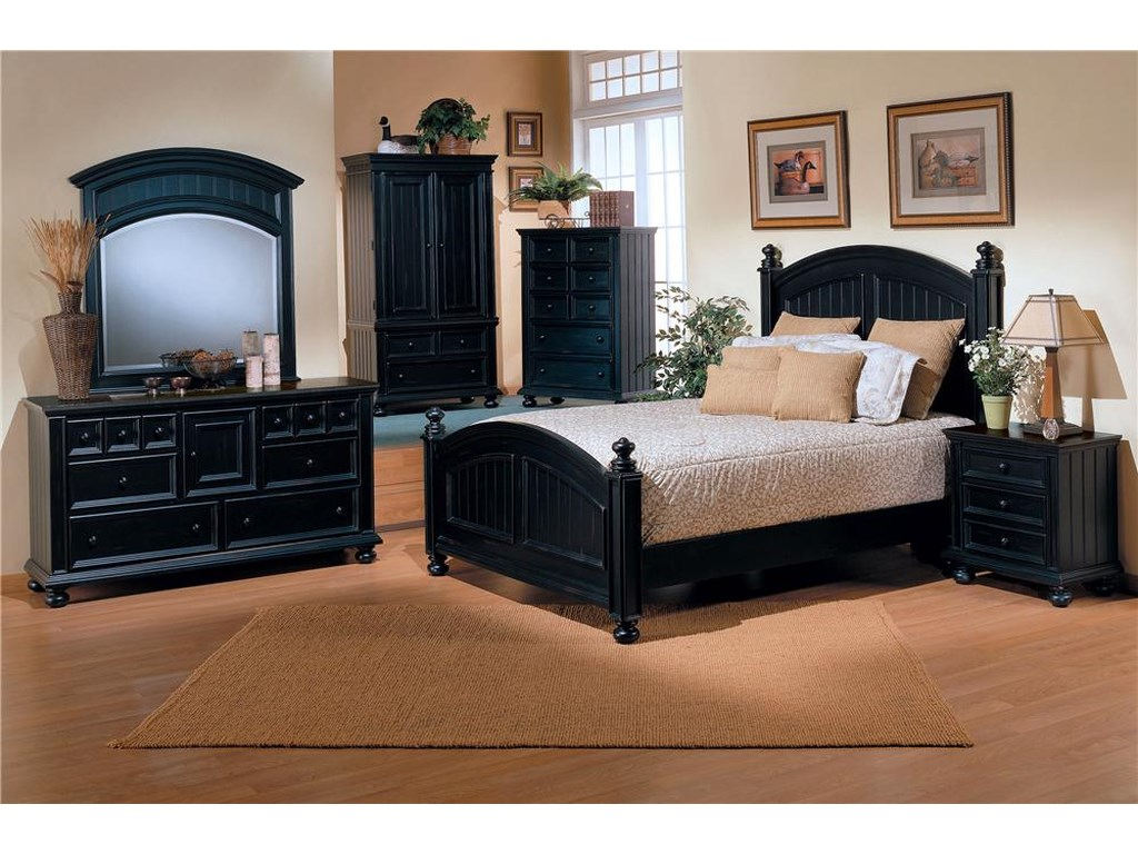 Winners Only Cape Cod California King Bedroom Group