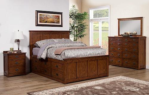 Winners Only Colorado Queen Bedroom Group
