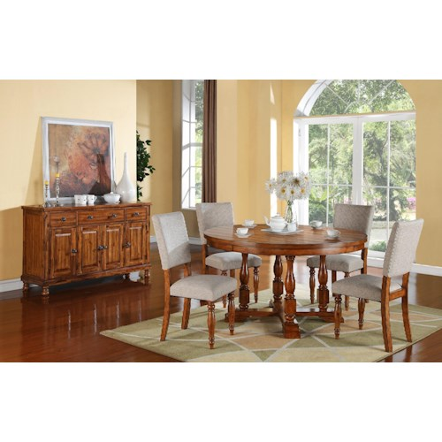 Winners Only Grand Estate Casual Dining Room Group