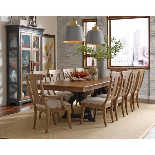 Kincaid Furniture Stone Ridge Formal Dining Room Group Godby Home Furnishings Formal Dining