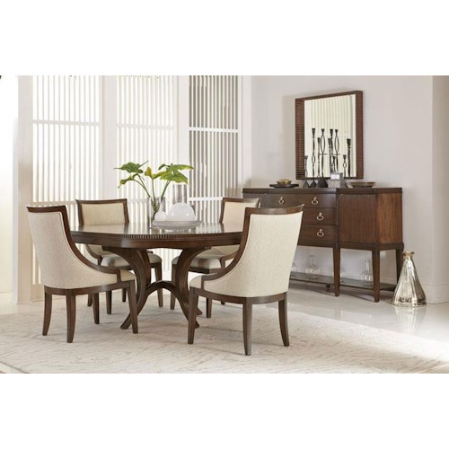 Bernhardt beverly glen casual dining room group design for Casual dining room decor