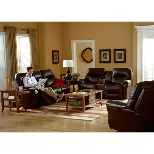 Best Home Furnishings Bodie Reclining Living Room Group Wayside Furniture