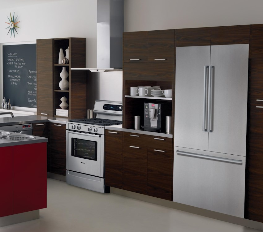 french door refrigerators stainless steel by bosch furniture and appliancemart bosch. Black Bedroom Furniture Sets. Home Design Ideas