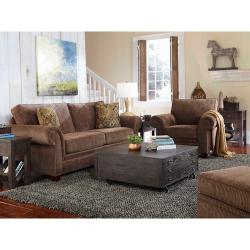 Broyhill Furniture Travis Stationary Living Room Group Colder 39 S Furniture And Appliance
