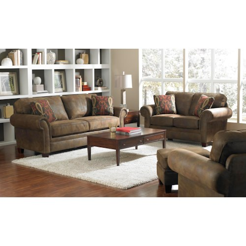 Broyhill Furniture Travis Stationary Living Room Group Broyhill Of Denver Upholstery Group