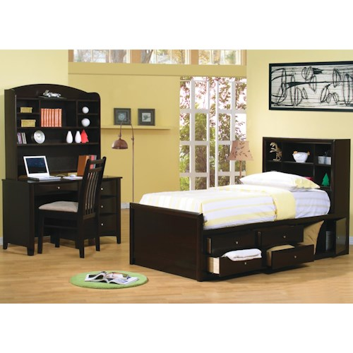 Coaster Phoenix Twin Bedroom Group Rife 39 S Home Furniture Bedroom Groups