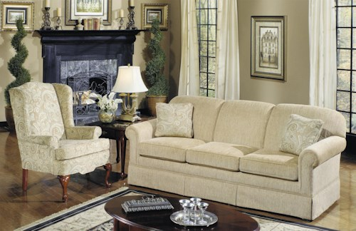 Craftmaster 4200 Stationary Living Room Group Bullard Furniture Stationary Living Room