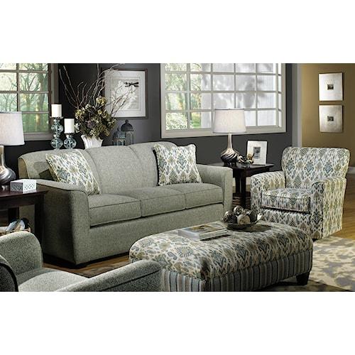 Craftmaster 7255 Stationary Living Room Group Boulevard