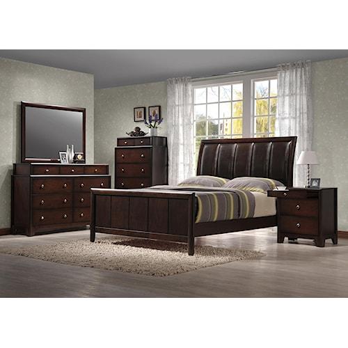 Crown Mark Rivoli Queen Bedroom Group Bullard Furniture Bedroom Group Fayetteville Nc