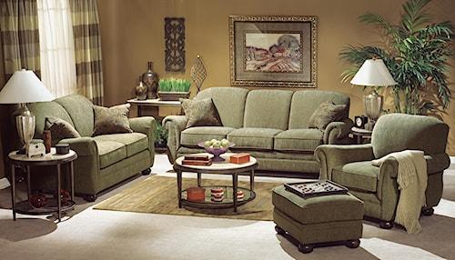 Flexsteel Winston Stationary Living Room Group Jordan 39 S