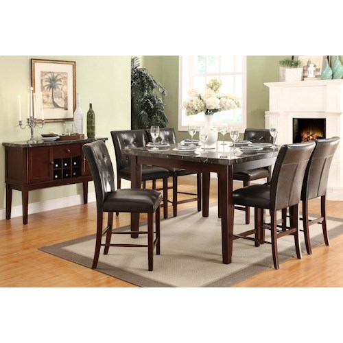 Homelegance Decatur Casual Dining Room Group Value City Furniture Casual Dining Room Group