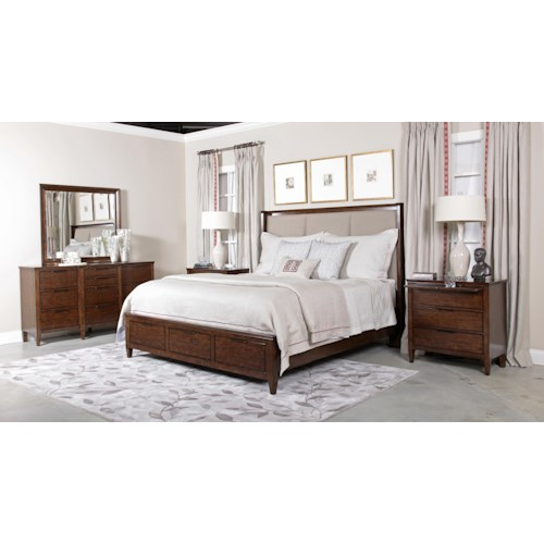kincaid furniture elise king bedroom group belfort furniture