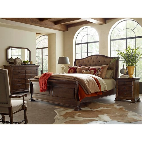 Kincaid Furniture Portolone King Bedroom Group Belfort Furniture Bedroom Groups