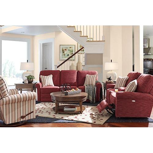 La Z Boy Addison Reclining Living Room Group Bennett 39 S