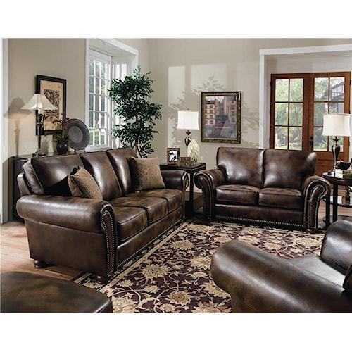 Lane benson stationary living room group wilson 39 s for Living room furniture groups