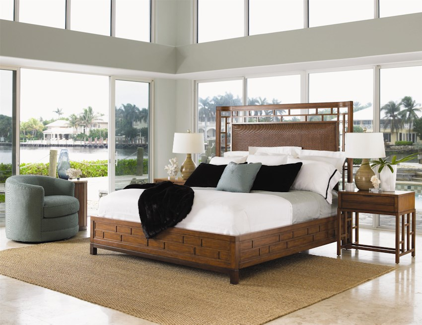 Ocean club 536 by tommy bahama home hudson 39 s furniture - Tommy bahama beach house bedroom ...