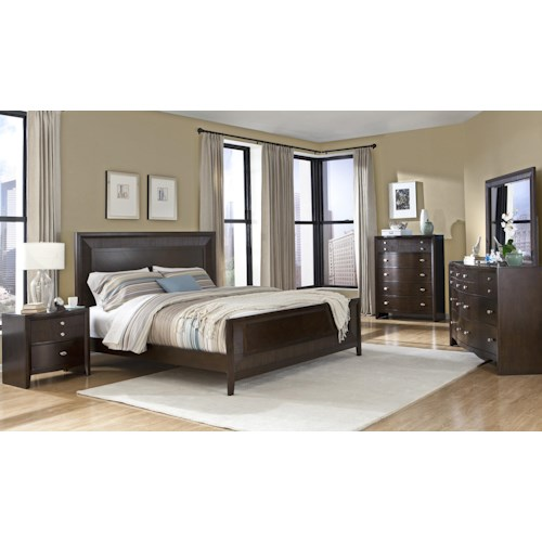 Lifestyle C3112 Queen Bedroom Group Furniture Fair