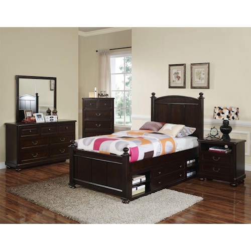 New Classic Canyon Ridge Full Bedroom Group Boulevard Home Furnishings Bedroom Group