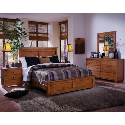 Progressive furniture diego queen bedroom group lindy 39 s for Bedroom furniture groups