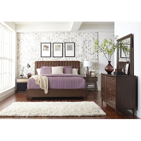 Queen Platform Bedroom Group
