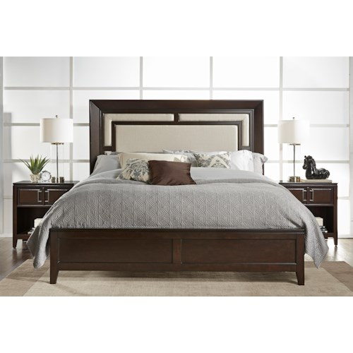 Samuel lawrence brighton king bedroom group colder 39 s for Spring hill designs bedroom furniture
