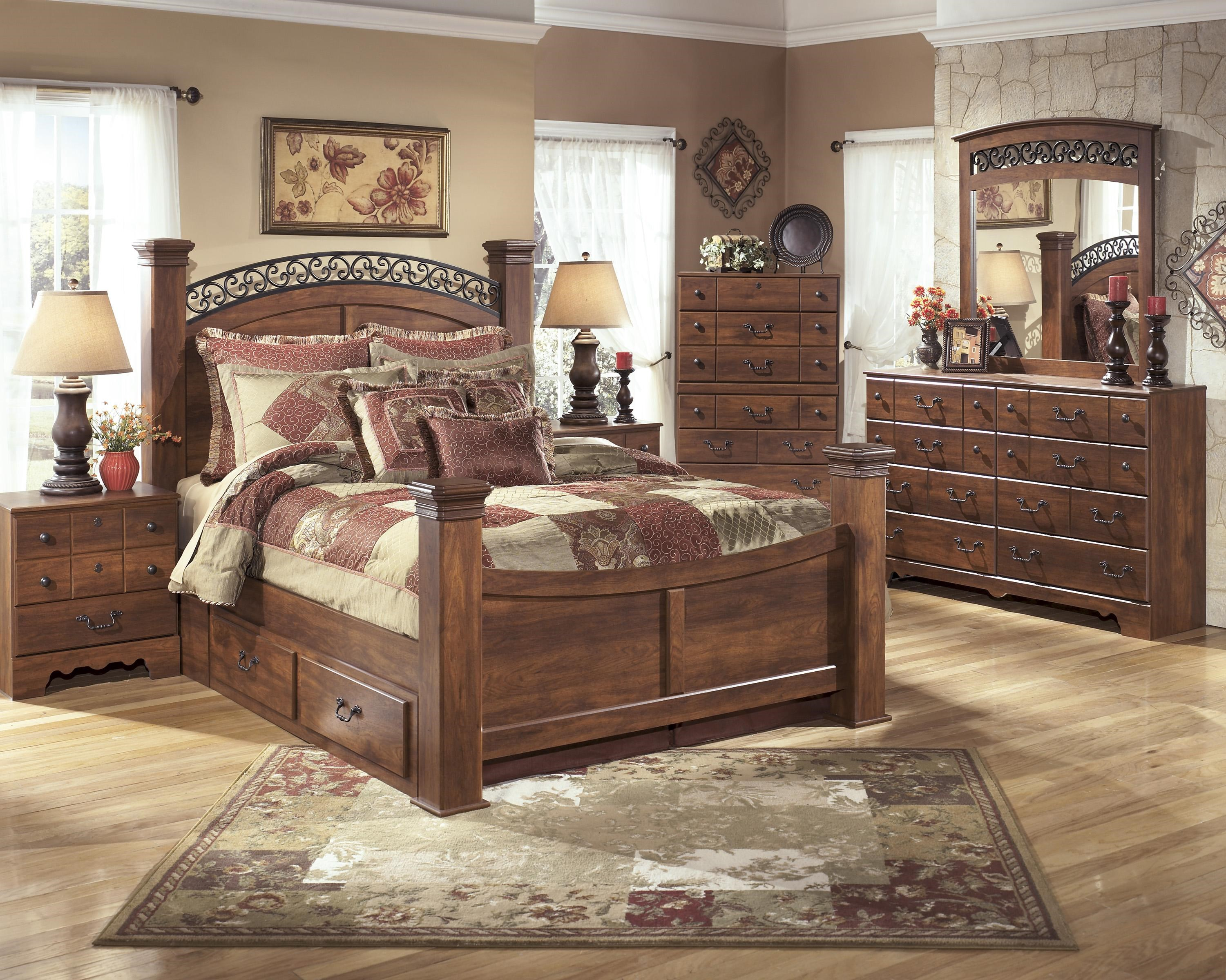 Signature Design by Ashley Furniture Timberline King