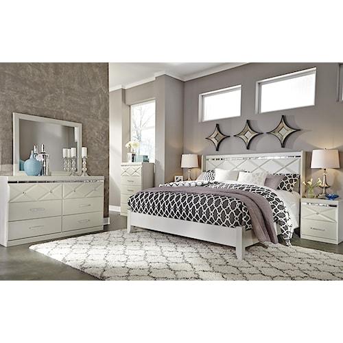 Signature Design By Ashley Dreamur King Bedroom Group Standard Furniture Bedroom Groups