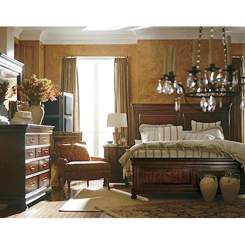 Stanley Furniture The Classic Portfolio Louis Philippe Queen Bedroom Group Design Interiors