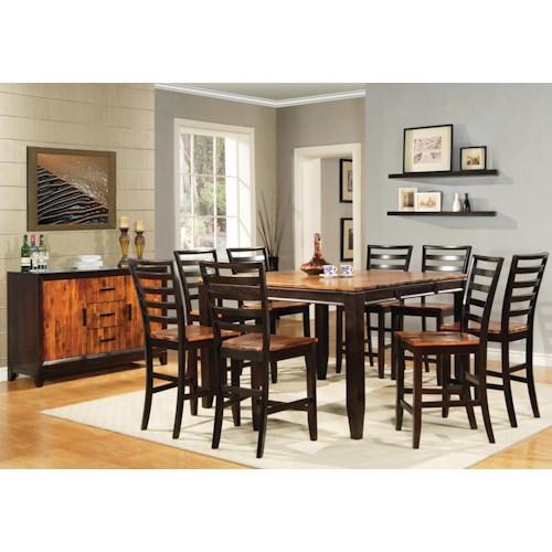 star abaco casual dining room group efo furniture outlet. Black Bedroom Furniture Sets. Home Design Ideas