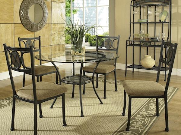casual dining room group dream home furniture. Black Bedroom Furniture Sets. Home Design Ideas
