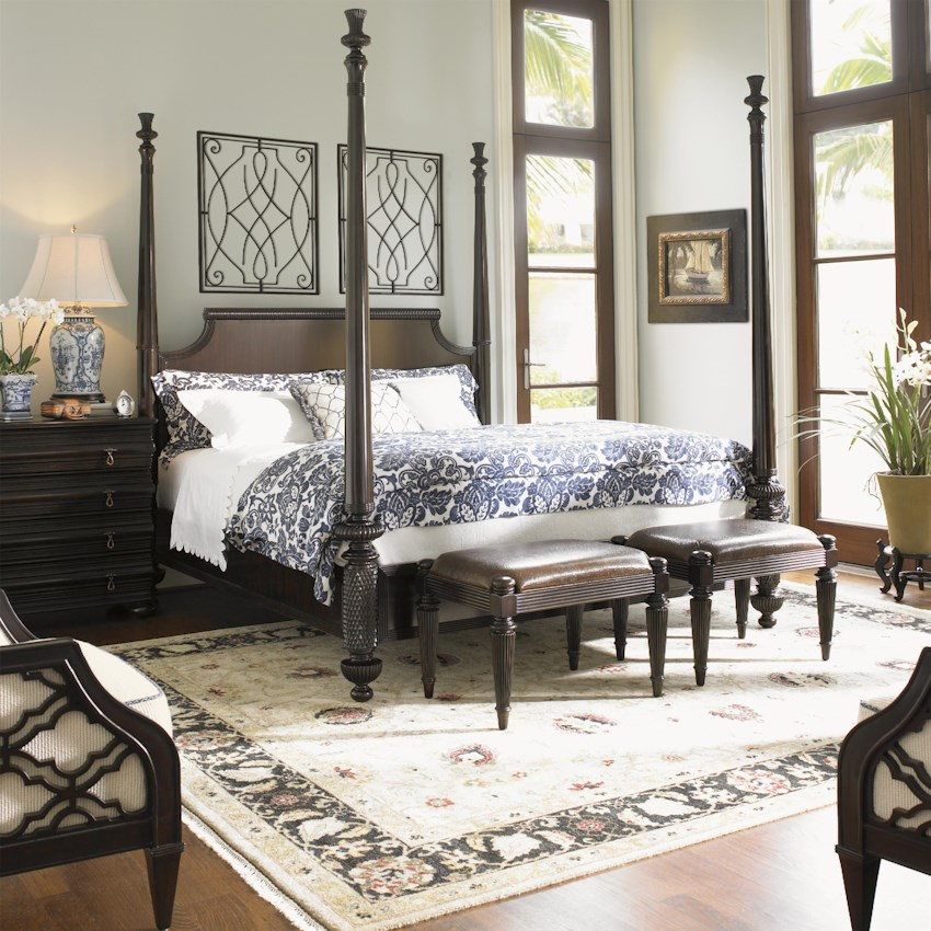 Royal kahala 537 by tommy bahama home baer 39 s furniture for British plantation style