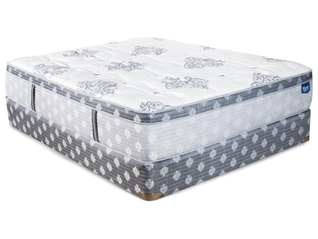 @Last @Last Resolute Intrepid ETFull Euro Top Mattress Set