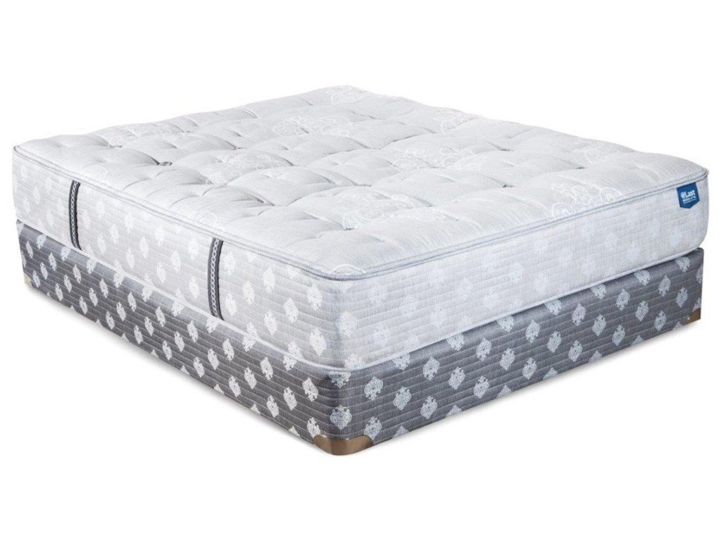 @Last @Last Resolute Titan LuxuryFull Coil on Coil Mattress Set