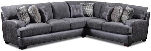 Seminole Furniture 3250 Contemporary 5 Seat L-Shaped Sectional