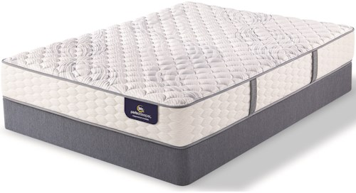 Serta Visby Lake Firm Cal King Firm Premium Pocketed Coil Mattress and 9