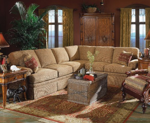 Fairfield 3720 Elegant Sectional Sofa