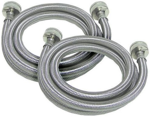 Boulevard Home Furnishings Appliance Accessories Stainless Steel Hose Kit-Req. for BLVD Install